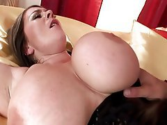 big tit cum shot omas