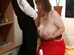 BBW, Big Boobs, Granny