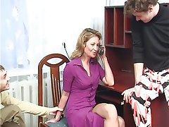 Amateur, Anal, Double Penetration, MILF, Russian
