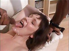 Anal, Blowjob, Facial, Interracial