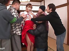 Asian, Creampie, Facial, Group Sex, Japanese