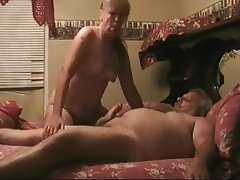 Blowjob, Granny, Handjob, Mature