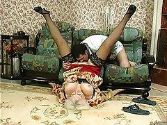 BBW, Granny, Mature, Russian, Stockings