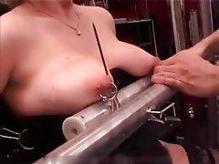 Gets cock pierced
