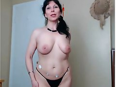 Brunette, Czech, Masturbation, Mature, Webcam