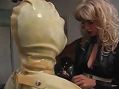 BDSM, Blonde, Latex, Femdom, Foot Fetish