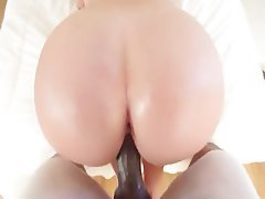 BBW, Big Boobs, Big Butts, Cumshot, Interracial