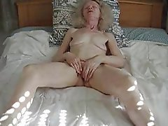 Amateur, Masturbation, Granny