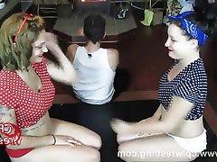 Face Sitting, Femdom, Redhead