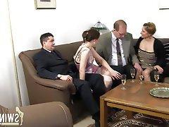 Blowjob, German, Brunette, Amateur