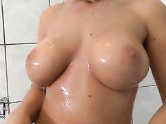 Babe, Big Tits, Ebony, Masturbation, Solo