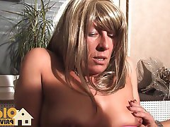 Blowjob, German, Mature, Threesome