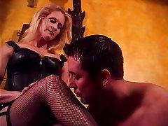 BDSM, MILF, Blonde, Femdom, Latex
