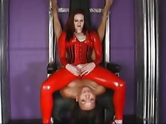 BDSM, Interracial, Lesbian, Redhead, Strapon