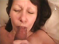 Amateur, Close Up, Facial, Blowjob, Mature
