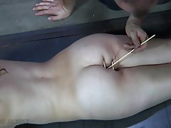 BDSM, Big Butts, Bondage, Brunette, Outdoor