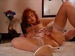 Masturbation, Redhead, Squirt, Vintage