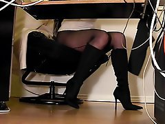 Lingerie, Pantyhose, Secretary, Stockings
