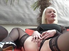 Milf first black cock films