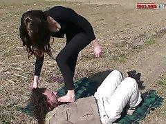 BDSM, Facial, Femdom, Foot Fetish