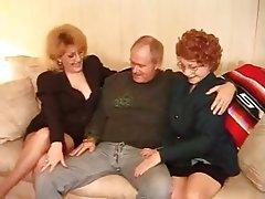 Granny, Hardcore, MILF, Stockings