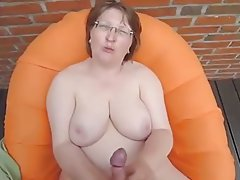 Amateur, Big Boobs, Cumshot, Granny, Handjob