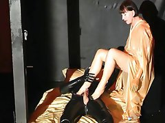 German, Cunnilingus, Latex, Mature, Handjob