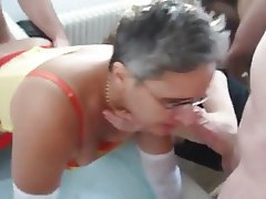 Amateur, French, Group Sex