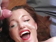 Big Boobs, Bukkake, Cumshot, Facial, MILF
