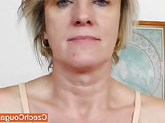 Close Up, Czech, Masturbation, Mature