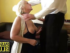 Blowjob, British, Granny, Hardcore, Mature