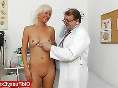 Blonde, Mature, Medical