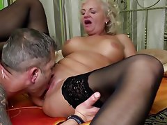 Granny, Mature, MILF, Old and Young