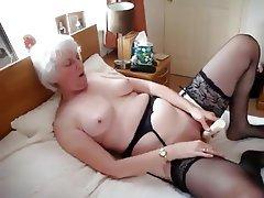 Granny, Mature, Orgasm, Wife