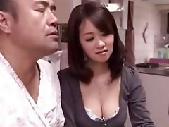 Asian, Cheating, Handjob, Japanese, Wife