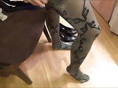 Foot Fetish, High Heels, Pantyhose