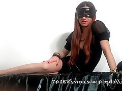 Foot Fetish, Italian, Mistress, POV