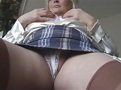 British, Masturbation, Mature, MILF