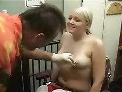 Amateur, Blonde, Piercing, Small Tits