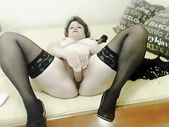 Webcam, Masturbation, Mature, Russian, Orgasm