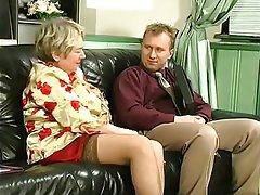 Cumshot, Face Sitting, Granny