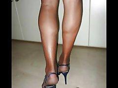 Stockings, Foot Fetish, High Heels, Pantyhose