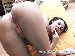 Babe, Masturbation, Orgasm, Outdoor