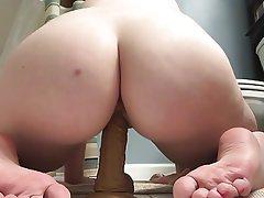 Amateur, Foot Fetish, Masturbation