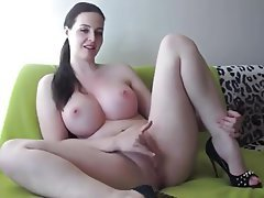 Big Boobs, Brunette, Masturbation, MILF, Webcam
