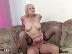 Cumshot, Hardcore, MILF, Old and Young, Teen