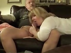 Blonde, Blowjob, BBW, Mature