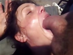Older women deep throat — 9