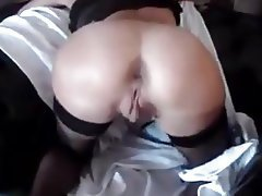 Anal, Mature, Stockings, Threesome