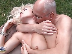 Blonde, Mature, Old and Young, Teen